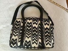 f5d70df39b Luggage Travel Bag Black White Tote Missoni for Target Weekender Overnight