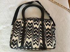 Luggage Travel Bag Black White Tote Missoni for Target Weekender Overnight