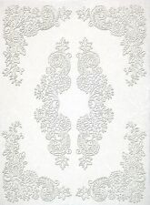 Carta di riso per Decoupage Decopatch Scrapbook Craft sheet bianco pizzo