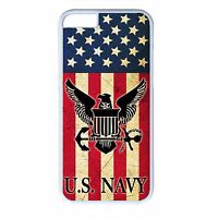US Navy USN Military Flag Black or White Case Cover for iPhone 4s 5 5s 5c 6 6+