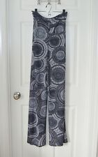 NWT Honey & Lace Piphany Pacific Palazzo pants black white print - 2XL - NEW