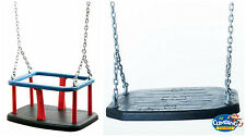 Interchangeable Baby Playground Commercial Heavy Duty Rubber Swing Seat Chains