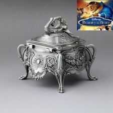 Vintage Design Tin Alloy Music Box ♫ TALE AS OLD AS TIME  ♫