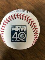 Seattle Mariners 40th Anniversary Rawlings MLB baseball, clean, no toning spots