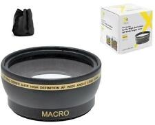 52mm Pro Series Wide Angle Lens for Panasonic Lumix DMC-FZ300 DMC-FZ200