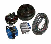 Lambretta Flywheel Electronic Ignition Kit 12V Large Cone Type For LI 1 2 3 AUS