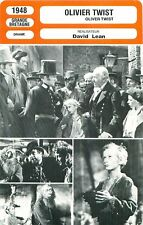 Fiche Cinéma - DAVID LEAN - OLIVIER TWIST - 1948