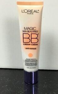 L'oreal Paris Magic Skin Beautifier BB Cream 818 Anti-Fatigue 1oz*New Sealed*
