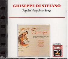 Giuseppe Di Stefano: Canzoni Popolari Napoletane, 'O Sole Mio - CD Emi