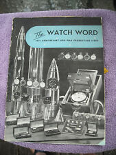 Elgin National Watch Co. 80th Anniversary employee publication 1865-1945