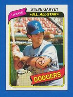 1980 Topps #290 Steve Garvey Los Angeles Dodgers NM+
