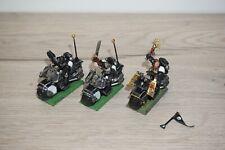 Warhammer 40k Space Marine Bikes & Chaplain Biker Part Metal x 3