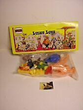 Busta Personaggi Lucky Luke della Novolinea Plastica morbida cm 5 #1