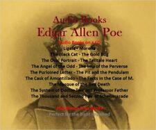 CD - 15 Audio Books - Edgar Allen Poe - Plus 25 Bonus Free Audio Books