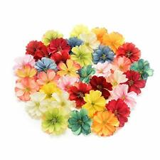 Fake flower heads in bulk wholesale for Crafts Artificial Silk Flowers