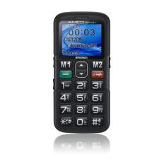 Brondi Amico semplice Nero Telefono Cellulare anziani Tasto SOS Amplificato