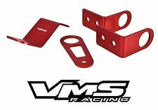 VMS Racing K Series Swap Brackets for EG EK DC2 w/ Half Size Radiator Red