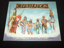 CIVILIZATION: RARE VINTAGE STRATEGY BOARD GAME  - 1988 - MADE BY GIBSONS GAMES