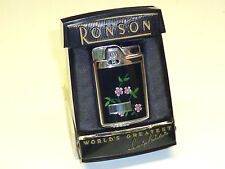 "RONSON ""CAPRI"" AUTOMATIC POCKET LIGHTER - 1954 - OVP - NEWARK, N.J. - U.S.A."
