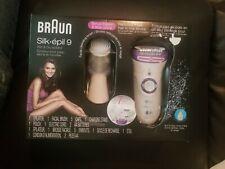 Silk-pil 9-579 Women's Epilator, Electric Hair Removal, Wet Dry, Razor Bonus New