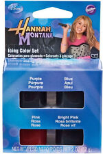 Hannah Montana Icing  4 Color Set from Wilton #4060 - NEW