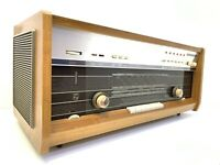 Radio PHILIPS B8X44A INTERCOM FM Stereo Vaccum Tube Vintage 1964 Working LikeNew