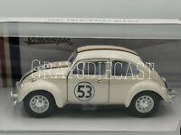 1/24 Scale 1967 Volkswagen Beetle Herbie die-cast  Car Model
