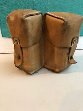 Vintage Military Leather Magazine Pouch