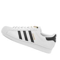 ADIDAS MENS Shoes Superstar Vegan - White, Black & Green - FW2295