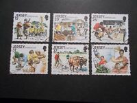 Jersey 1991 Commemorative Stamps~Overseas Aid~Very Fine Used Set~UK Seller