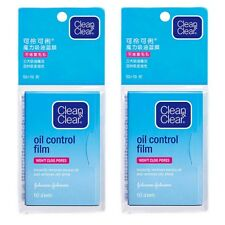 2PCS Pack Clean Clear Oil absorbing sheets Face Paper Oil Control Film Paper Hot