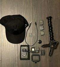 GoPro HERO7 BLACK Action Camera Bundle Package with mounts and accessories