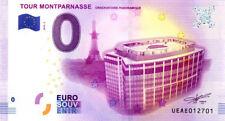 75015 Tour Montparnasse, 2018, Billet 0 € Souvenir