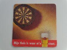Beer Collectible Bierdeckel Coaster ~ STELLA ARTOIS Belgian Brewery >< Dart Game