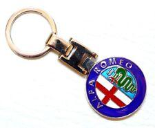 Alfa Romeo Métal Porte-clés Badge rond grosses Porte-clés Keychain MITO GIULIETTA