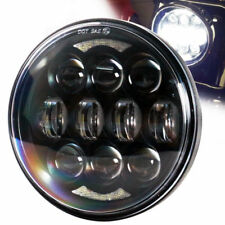 "2018 Brightest 80w 5-3/4"" 5.75"" Led Daymaker Headlight For Harley Dadvison Motor"