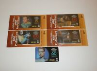 Star Trek Prepaid Phone Cards Lot Voyager 7 of 9 Kirk Spock Data Worf TNG DS9