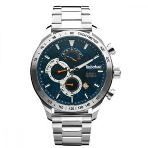 Mens Wristwatch TIMBERLAND NICKERSON TDWGK2100205 Stainless Steel Blue Dual Time