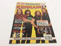 KERRANG Magazine - No 335 - Rock Music - Heavy Metal - (ref9)
