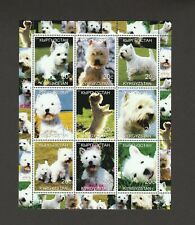 West Highland White Terrier *Int'l Dog Stamp Art Collection* Westie Gift Idea *