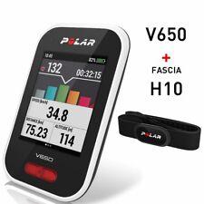 POLAR V650 BIKE COMPUTER CON GPS INTEGRATO + FASCIA CARDIO H10