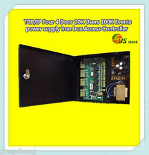 TCP/IP 4-Door 20K Users 100K Events power supply iron box Access Controller/U