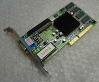 Genuine Intel AQA 740 ATG7401A-30 VGA AGP Vintage Graphics Card 392-0740