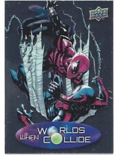 2015 Marvel Vibranium When Worlds Collide Card - Spider-Man vs Spider-Man
