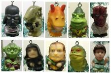 Star Wars 10 Christmas Ornaments w Darth Vador Darth Maul, Skywalker, and Yoda
