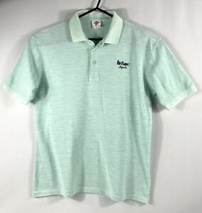 """Mens  LEE COOPER Summer Polo Shirt  Size Medium  Approx Chest 40/42"""" -101/106cm"""