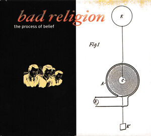 BAD RELIGION The Process Of Belief NED Press Epitaph 6635-2 2002 CD