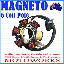 6 Coil Pole MAGNETO Flywheel Stator 110cc 125cc 150cc Quad Dirt Bike ATV Buggy