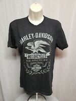 Zion Harley Davidson MotorCycles Washington UT Womens Small Gray TShirt