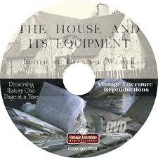 1912 Vintage House & Its Equipment Book { Life in the Early 1900's } on DVD